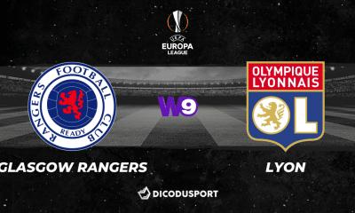 Pronostic Glasgow Rangers - Lyon, 1ère journée de la Ligue Europa