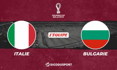 Pronostic Italie - Bulgarie, Qualifications Coupe du monde 2022