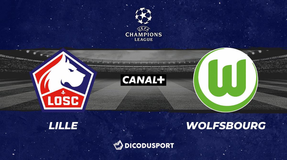 Pronostic Lille - Wolfsbourg, 1ère journée de Ligue des champions