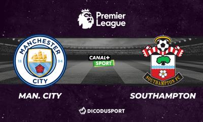 Pronostic Manchester City - Southampton, 5ème journée de Premier League