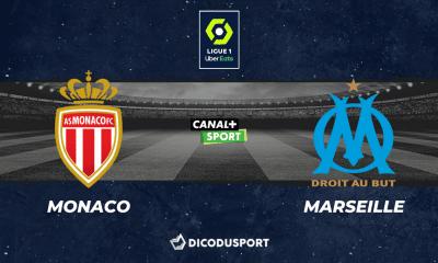 Pronostic Monaco - Marseille, 5ème journée de Ligue 1