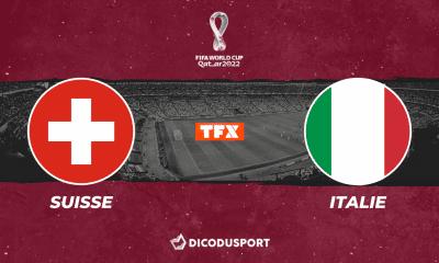 Pronostic Suisse - Italie, qualifications Coupe du monde 2022