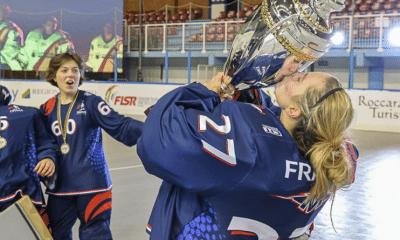 Roller Hockey: Retour sur le sacre mondial des Bleues avec Marion Mousseaux