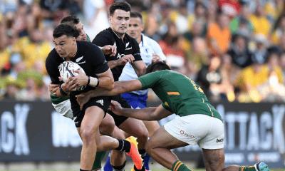 Rugby Championship : La Nouvelle-Zélande vient à bout de l'Afrique du Sud après un énorme combat