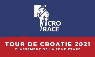 Tour de Croatie 2021 - Le classement de la 2ème étape