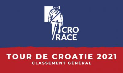 Tour de Croatie 2021 : le classement général