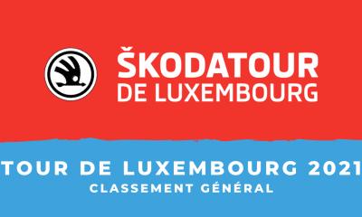 Tour de Luxembourg 2021 : le classement général