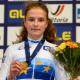 Trente 2021 Alena Ivanchenko championne d'Europe juniors du contre-la-montre
