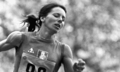 16 octobre 1968 Colette Besson sur la plus haute marche olympique
