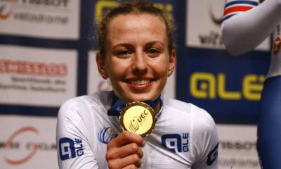 Championnats d'Europe de cyclisme sur piste 2021 Valentine Fortin titrée sur l'élimination