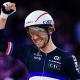 Championnats d'Europe de cyclisme sur piste Benjamin Thomas en or sur la course aux points