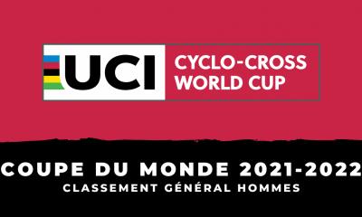 Coupe du monde de cyclo-cross 2021-2022 Le classement général hommes