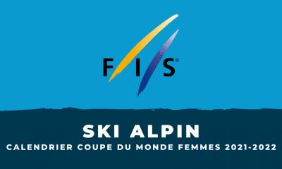 Coupe du monde de ski alpin 2021-2022 : Le calendrier de la saison femmes