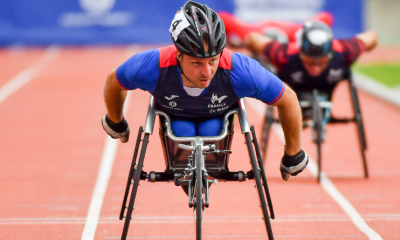Handisport : Julien Casoli remporte le Marathon de Paris handi fauteuil