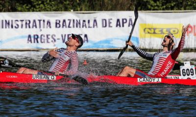 Mondiaux de canoë-kayak marathon Quentin Urban et Jérémy Candy conservent leur titre