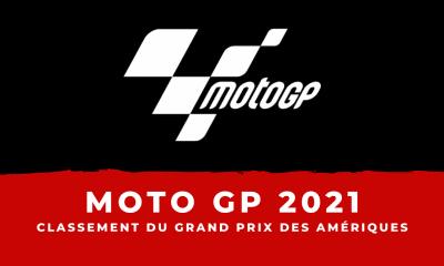 MotoGP - Grand Prix des Amériques 2021 : le classement de la course