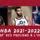 NBA 2021-2022 - Conférence Ouest : Le récapitulatif des previews