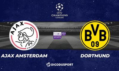 Pronostic Ajax - Dortmund, 3ème journée de Ligue des champions