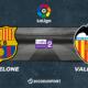 Pronostic Barcelone - Valence, 9ème journée de Liga