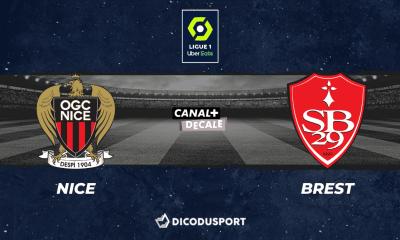 Pronostic Nice - Brest, 9ème journée de Ligue 1