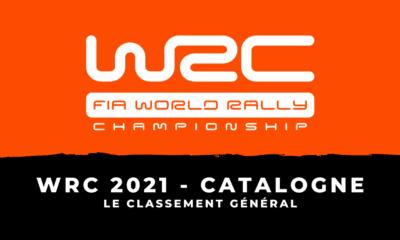 WRC 2021 - Rallye de Catalogne : le classement général