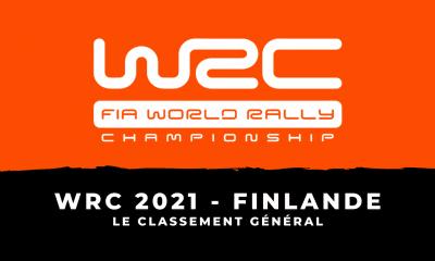 WRC 2021 - Rallye de Finlande : le classement général